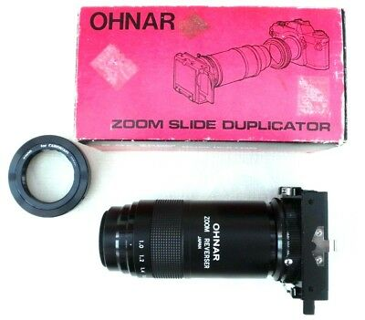 OHNAR Zoom Slide Copier - with T-Mount for CANON EF / EF-S