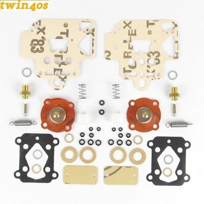 Genuine Dellorto 2 x DHLA40 service overhaul kit for H L N R carbs  DHLAHSK