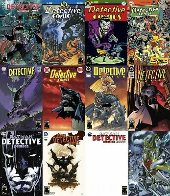 Batman DETECTIVE COMICS #1000 FULL 12 Issue SET and Zero Day SHIPPING BMT var