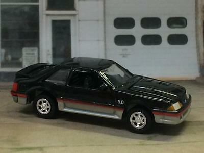 1988 88 Ford Mustang 5.0 V-8 GT FOX BODY 1/64 Scale Limited Edition G6