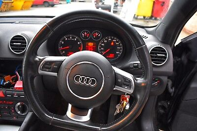 Audi A3 Flat Bottom Steering Wheel With Airbag