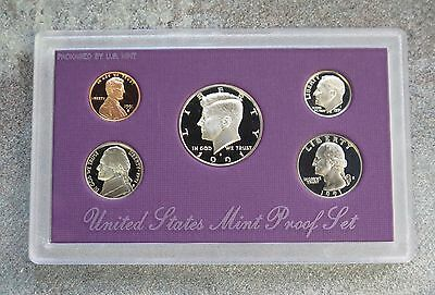 1991 S United States Us Mint 5 Coin Clad Proof Set