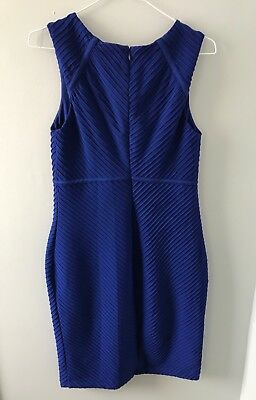 Jessica Simpson Maternity Navy cocktail Dress Size Small