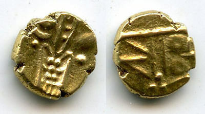 Very nice gold fanam, Dutch VOC company in Tuticorin, ca 1658-1795, Dutch India