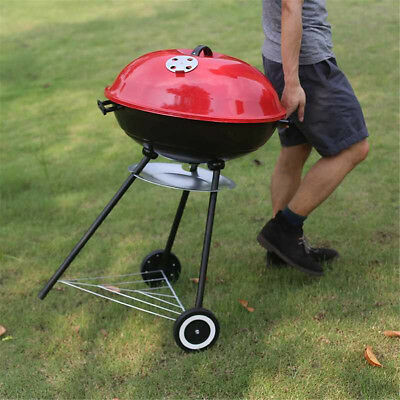 22'' BBQ Charcoal Grill Pit Outdoor Camping Cooker Bars Backyard Barbecue