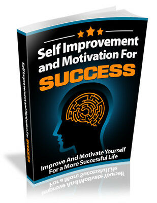Self Improvement and Motivation for Success Free Shipping
