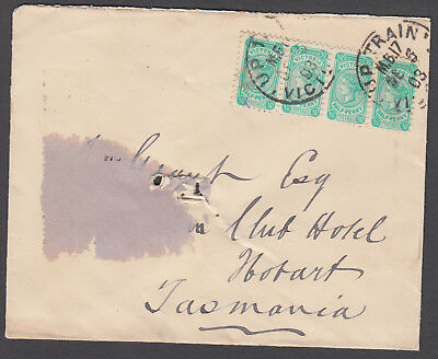 Victoria TPO - 1903 Tattersall cover cancelled TPO17-Up1 VF