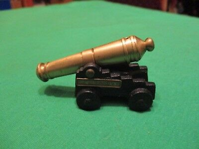 Vintage Miniature Brass / Cast Iron Canon - Souvenir Fort Ticonderoga, N.y.