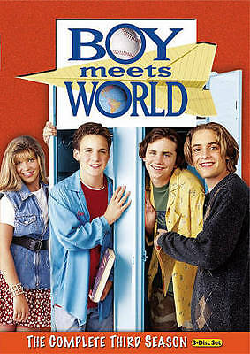 BOY MEETS WORLD THE COMPLETE THIRD SEASON (3-Disc Set) DVD