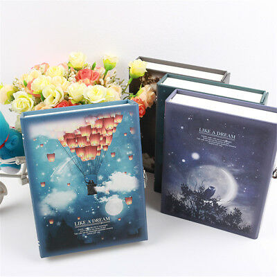 LIKE A DREAM 144 Page Notepad Journal Diary Hardback Notebook With Lock Box
