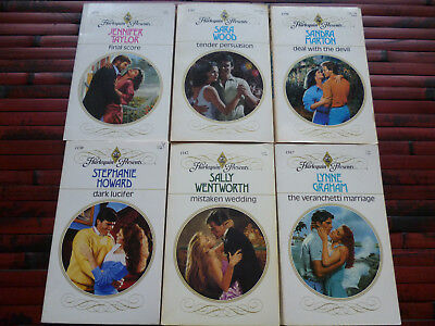 Lot Of 20 Harlequin Presents Romance Pbs Emma Darcy Susan Napier