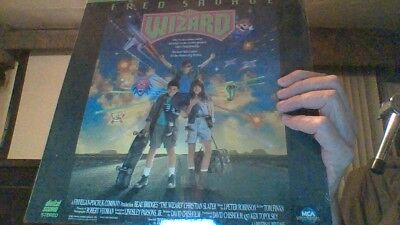 SUPER RARE OOP THE WIZARD Laserdisc Laser Fred Savage Christian Slater Gamers