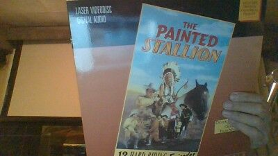 Rare Lot Of 2 Laser Disc Sets The Painted Stallion 12 Episodes 2 Discs + 1