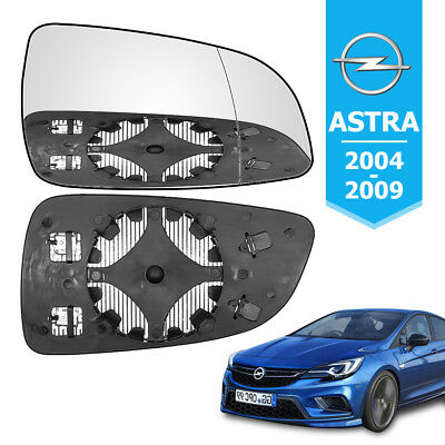 Right Drivers NEARSIDE WING MIRROR GLASS HEATED FITS VAUXHALL ASTRA H MK5 04-08