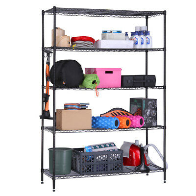 LANGRIA 5Tier Heavy Duty Extra Large Shelving Unit for Home Office Storing Goods