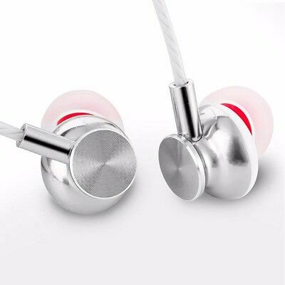 Langsdom Inear Metal Earphones Super Bass Stereo Headsets Mic 3.5mm Headphone