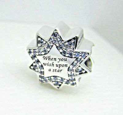 Authentic Pandora Charm When You Wish Upon A Star 797490NBL