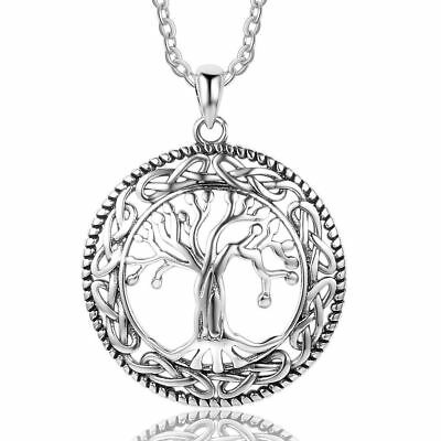 Silver Tree Of Life Pendant Goddess Wicca Supplies Jewelry Pagan