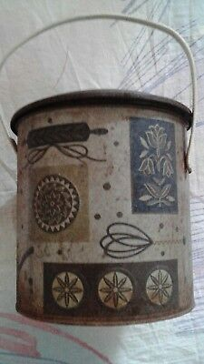 collectable biscuit barrel tin