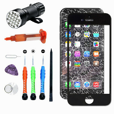 Glass For iPhone 7Plus Front Touch Screen Lens Replacement Repair Tools Kit OEM
