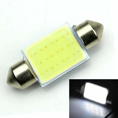 1 X 24V Festoon 41mm COB LED White Light C5W Truck 4wd Caravan Bus Bulb Globe