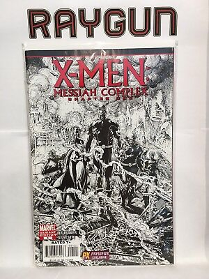 X-Men Mesías Complejo Chapter One #1 Blanco y Negro Variante de Muñeco Ex Marvel