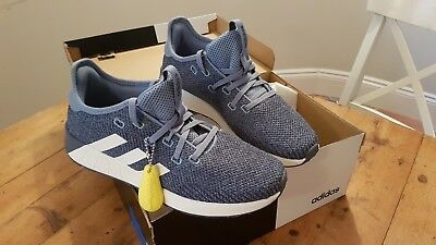 the best attitude 4e353 bf586 Adidas Questar X BYD Trainers - BLUEWHITE (GirlsLadies UK Size 7