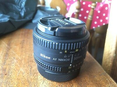 USED Nikon AF NIKKOR 50mm f/1.8D - very good condition
