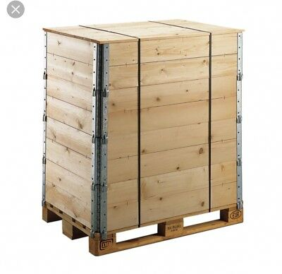 50x Used Wooden pallet collars Grade A