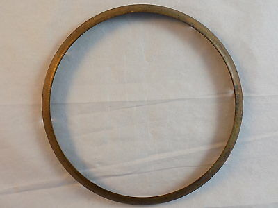 "SETH THOMAS Mantle Clock GLASS BEZEL RING fits 5.5"" Opening Vintage SOLID COPPER"