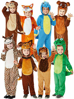Baby Toddler Animal Costume Childs Book Week Day Girls Boys Fancy Dress Outfit
