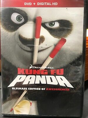 """""""Kung Fu Panda"""" (Dvd) - Brand New Sealed .With digital HD Ultimate Edition"""