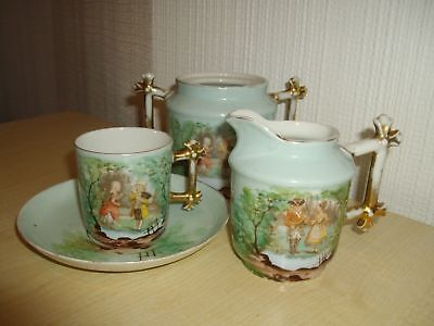Japanese China Tea Set For One ~ Very Old