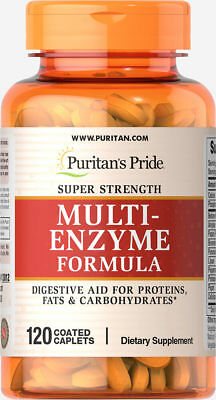 Super Strength Multi Enzyme Formula x 120 Caplets - 24HR DISPATCH