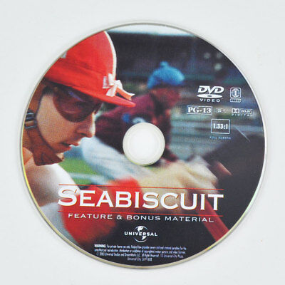 Seabiscuit (DVD, 2003, Full Screen) Tobey Maguire, Jeff Bridges - DISC ONLY