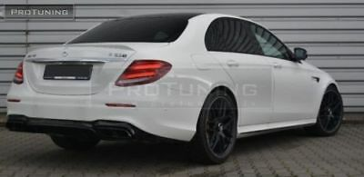 TRUNK SPOILER FOR MERCEDES W213 Prefacelift WING LIP AMG Look Tailgate Wing
