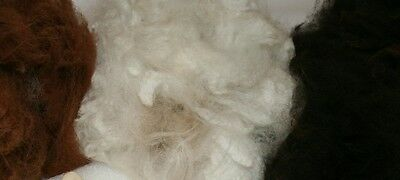 Alpaca Fleece for Stuffing, Felting, Second Quality Alpaca Fibre Wool Unwashed