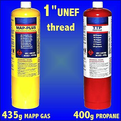 MAPP Map Plus Propane Bottle Disposable Gas Cylinder plumbers torch jet burner
