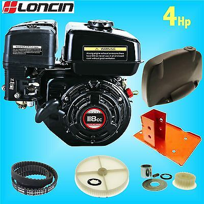 Loncin G120 Engine Conversion Kit for Belle Minimix Mixer (Honda GX120 GHX50)