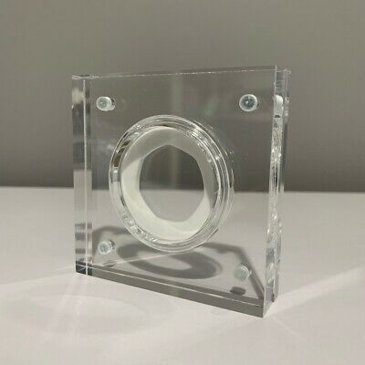 Royal Mint Silver Proof Style Perspex Coin Display