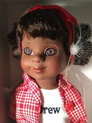 "Tonner AA AFRICAN AMERICAN BETSY McCALL Collection 14"" Vinyl DOLL DREW w/Tag,Box"