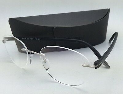 0183fb29412 SILHOUETTE Eyeglasses SPX SIGNIA 5376 00 6052 5379 Grey Steel with Demo  Lenses