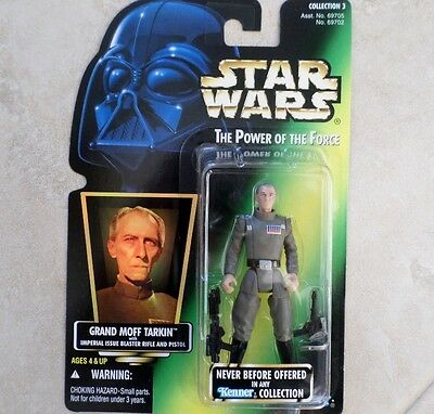 New Grand Moff Tarkin Potf Star Wars Power Of The Force 1996 Foil