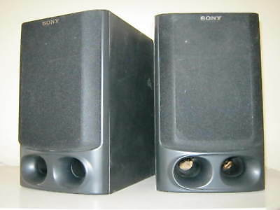 SONY 80W 6 SS H10 Max Power Bookcase Home System Speakers With Subwoofer