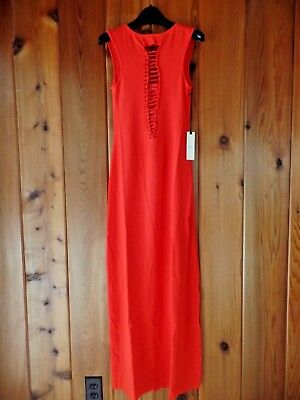 1cc1ef75648 NEW FREE PEOPLE Nightcap Knit Maxi Dress Red Size 1 (XS)  198 ...