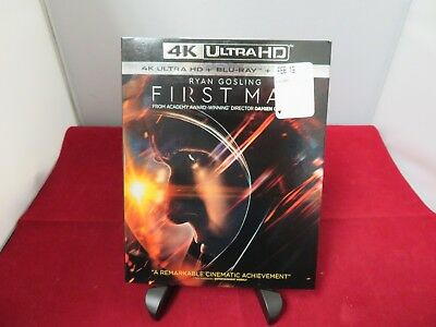 First Man (4K Ultra HD + Blu-ray + Digital; 2018) NEW with Slipcover