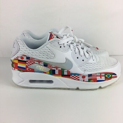 04cd35cf61 Nike Air Max 90 FIFA World Cup International Flag Size 8 In Men's 9.5 in  Women's