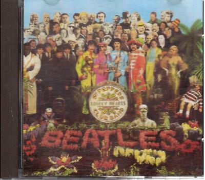 Beatles: Sgt Pepper's Lonely Hearts Club Band - Cd 1987 No Barcode