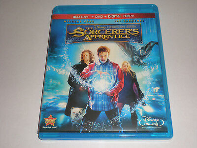 The Sorcerer's Apprentice│Blu-Ray/DVD│No Digital Copy│No Slipcover│Like New