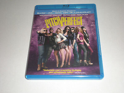 Pitch Perfect│Blu-Ray/DVD Combo│No Digital Copy│No Slipcover│Like New